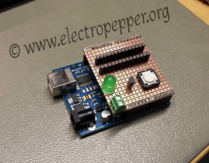 Rescue AVR with HV rescue arduino shield